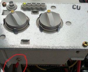 панель управления котла Юнкерс ZW23