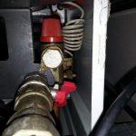 подрывной клапан, клапан безопасности